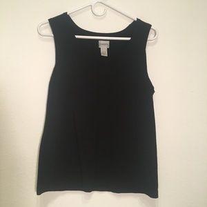 50% OFF BUNDLES - Chico's Black Sleeveless Sweater